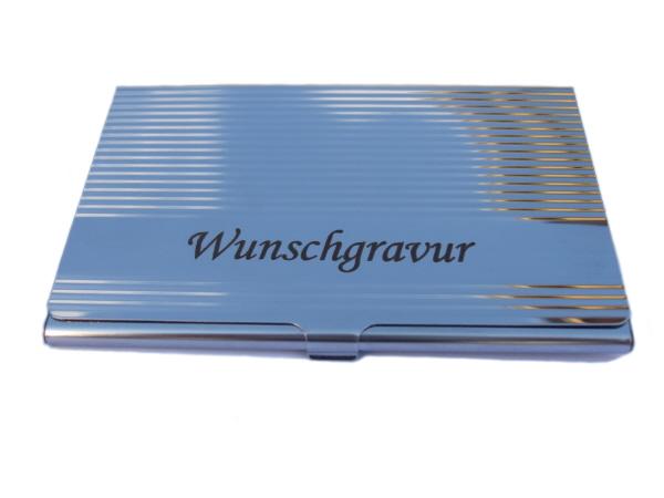Visitenkartenetui Gravur Mit Querformatiger Gravurfläche Visitenkartenbox